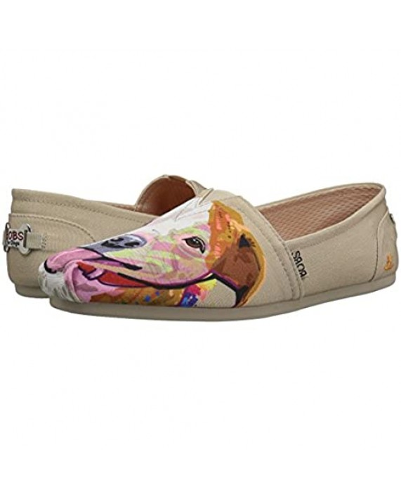 Skechers Women's Bobs Plush-Breeds Ballet Flat