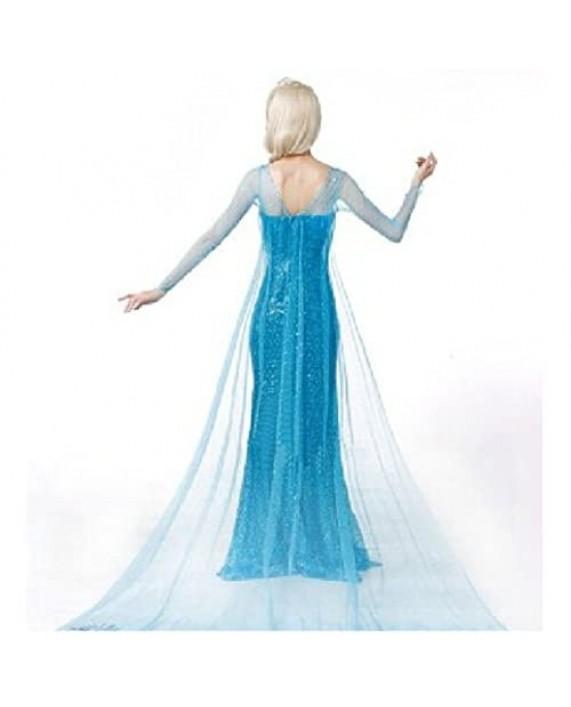 Princess Dress Women Girls Fancy Party Dress Up Halloween Cosplay Costume