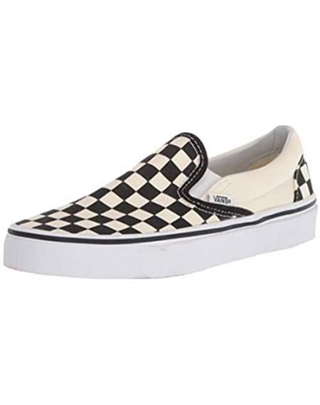 Vans Unisex Classic Slip-On (Checkerboard) Skate Shoe