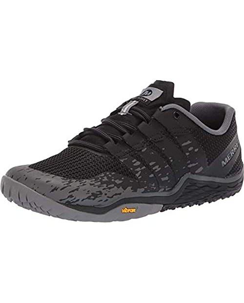 Merrell Women's Trail Glove 5 Sneaker Black 08.0 M US