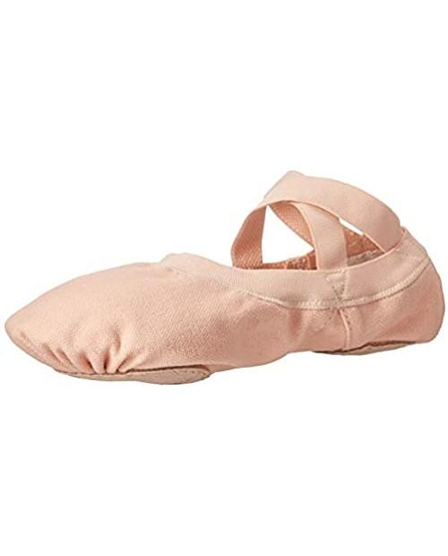 Bloch Dance Women's Pro Elastic Canvas Split Sole Ballet Shoe/Slipper