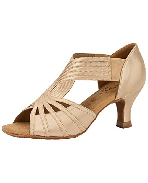 SheSole Women's Strappy Heels Dance Shoes Super Light for Latin Salsa and Ballroom Dancing