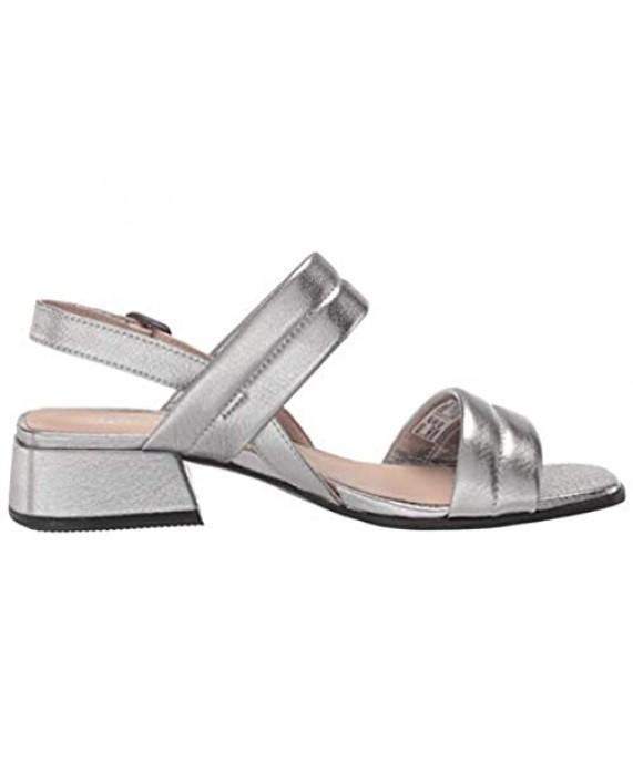ECCO Men's Elevate Square Toe Slide Heeled Sandal