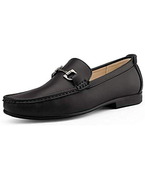 Bruno Marc Men's Dress Loafers Slip On Casual Driving Loafer