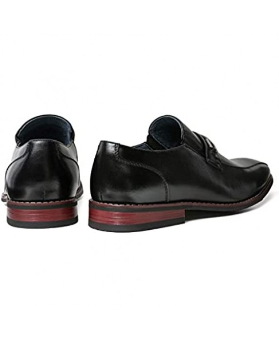 ZRIANG Men's Dress Loafers Formal Leather Lined Slip-on Shoes