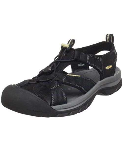 KEEN Men's Venice Closed Toe Leather Sport Sandal