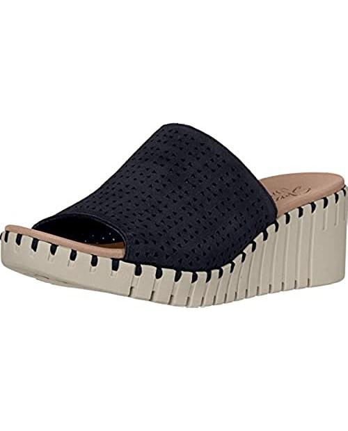 Skechers Unisex-Adult Slide Wedge Sandal