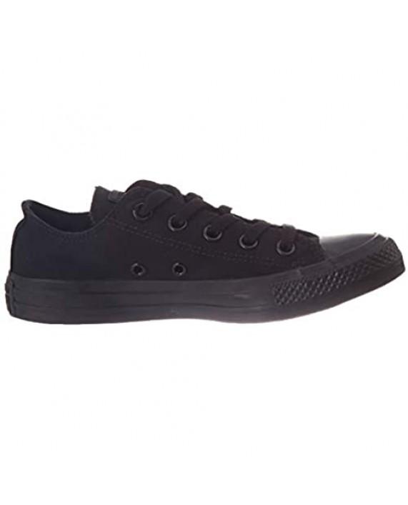 Converse Unisex Chuck Taylor All Star Low Top Black Monochrome Sneaker