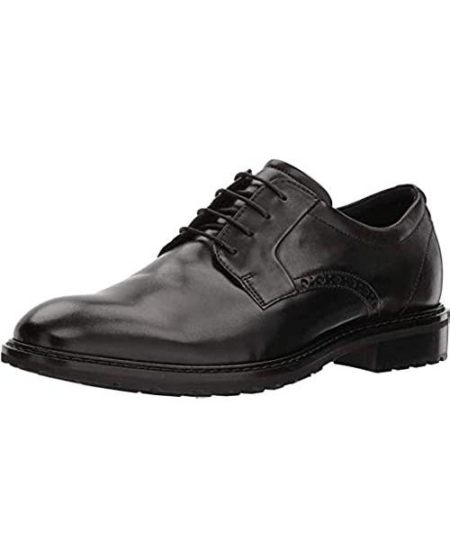 ECCO Men's Vitrus I Plain Toe Tie Oxford