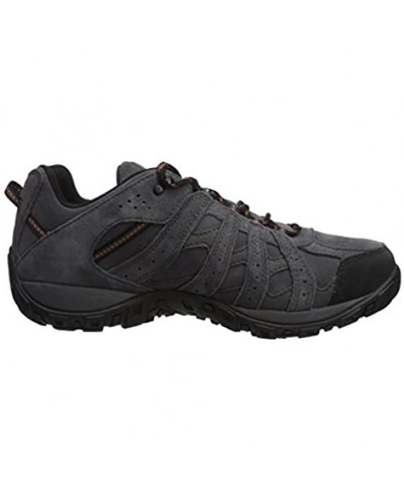 Columbia Men's Redmond Leather Omni-TECH Wide Hiking Shoe