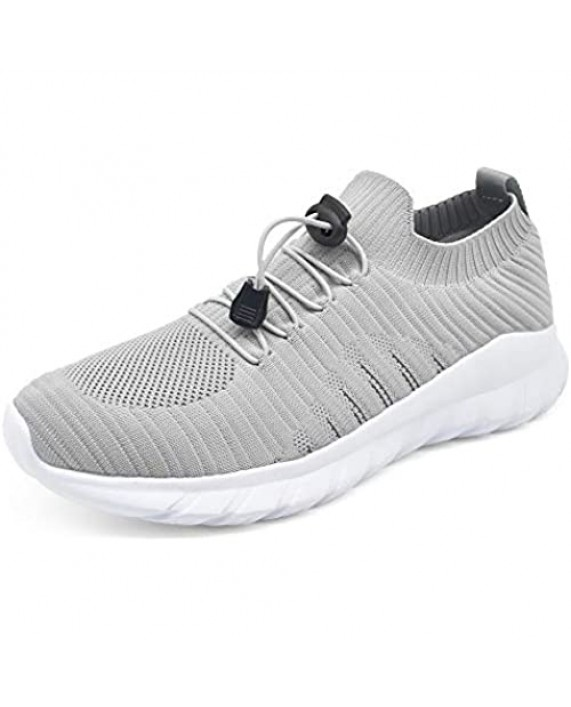 KUAILU Men's Running Shoes Lightweight Breathable Mesh Athletic Sport Walking Shoes Outdoor Sneakers