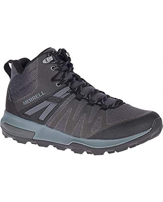 Merrell Mens Zion FST Mid WP Running Shoe