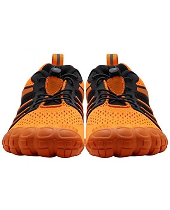 Oranginer Mens Womens Barefoot Minimalist Shoes- Wide Toe Box - Cross Workout Shoe