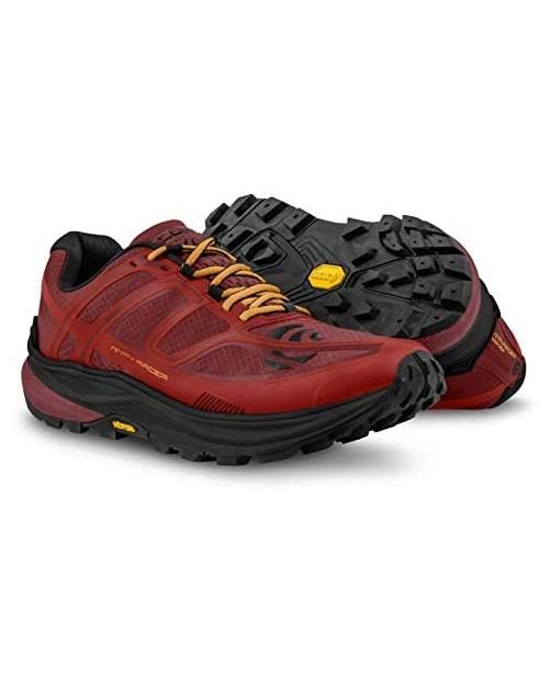 Topo Athletic Men's MTN Racer Trail Running Shoe Red/Orange Size 12