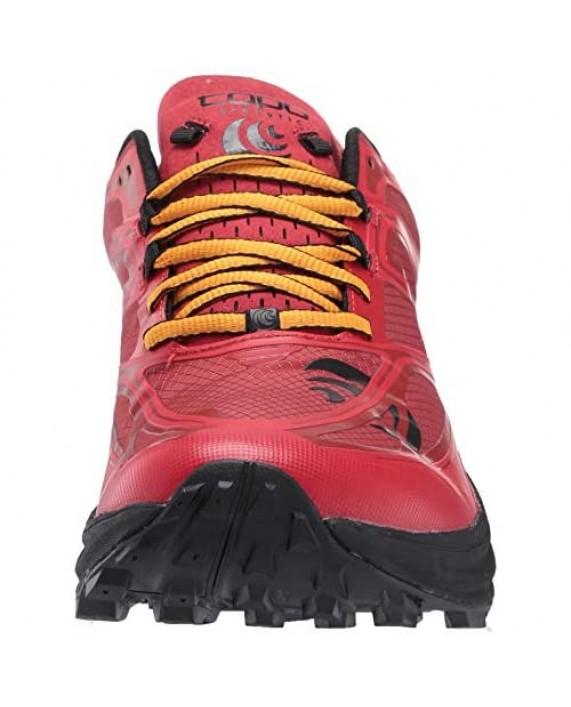 Topo Athletic Men's MTN Racer Trail Running Shoe Red/Orange Size 9