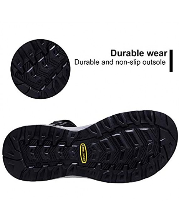 CAMEL Sport Sandals for Men Strap Athletic Shoes WaterproofHiking Sandals for Walking Beach Outdoor Summer