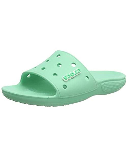 Crocs Unisex-Adult Classic Slide Sandals   Slip on Water Shoes