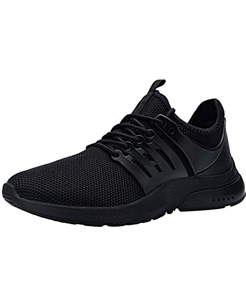 DYKHMILY Women's Steel Toe Shoes Waterproof Lightweight Safety Toe Running Sneakers Slip Resistant Breathable Puncture Proof Work Shoes Food Service