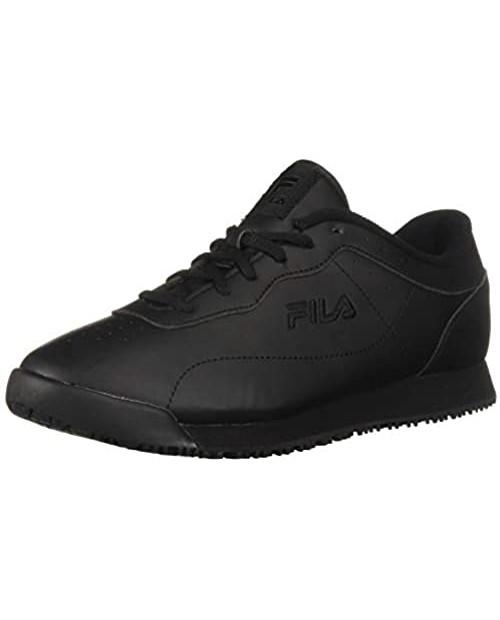 Fila Women's Memory Viable Slip Resistant Work Shoe Food Service