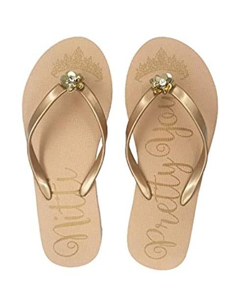 NITTI Women's Sandals | Ultra Soft Comfortable Flip Flops for Women | Fashion Design Rubber Slide Sandals