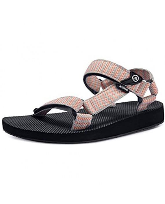 ATIKA Women's Islander Walking Sandals Arch Support Trail Outdoor Hiking Sandals Strap Sport Sandals