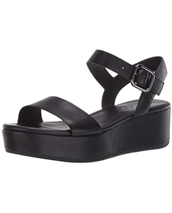 ECCO Women's Plateau Ankle Strap Sandal