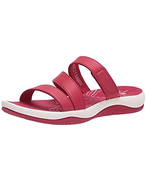 Clarks Women's Sunmaze Coast Slide Sandal