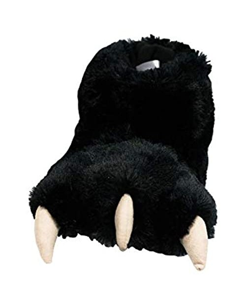 Lazy One Animal Paw Slippers for Kids and Adults Fun Costume for Kids Cozy Furry Slippers